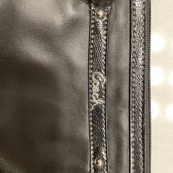 Coach Gallery Leather Wristlet